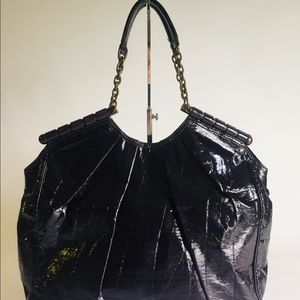 United Colors Benetton Cherry Patent Leather bag